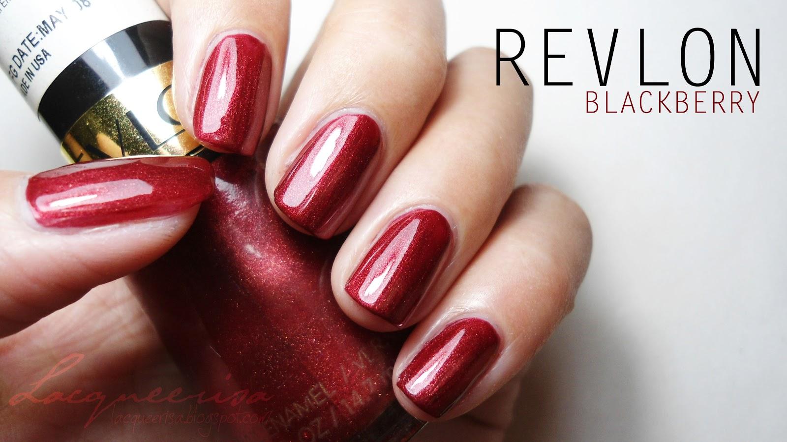 Revlon - Blackberry