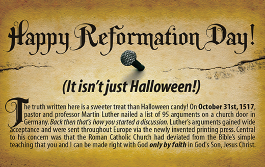Happy Reformation Day Christian Chat Rooms Amp Forums