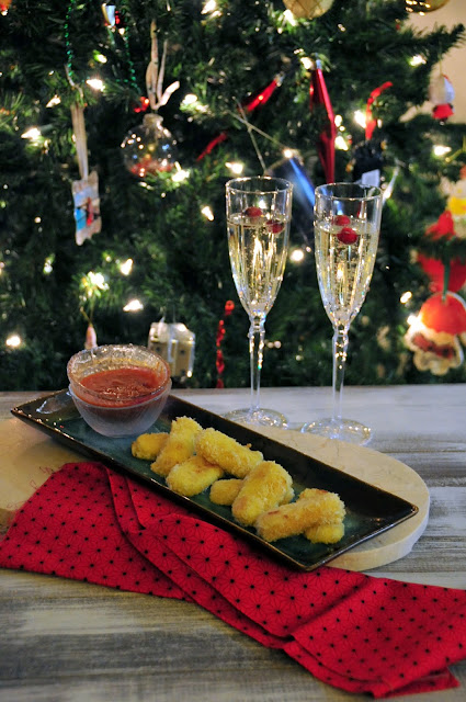 Check out how to make Baked Mozzarella Cheese Sticks.  They are perfect everyday snack and make a wonderful appetizer to ring in the New Year!  http://uTry.it