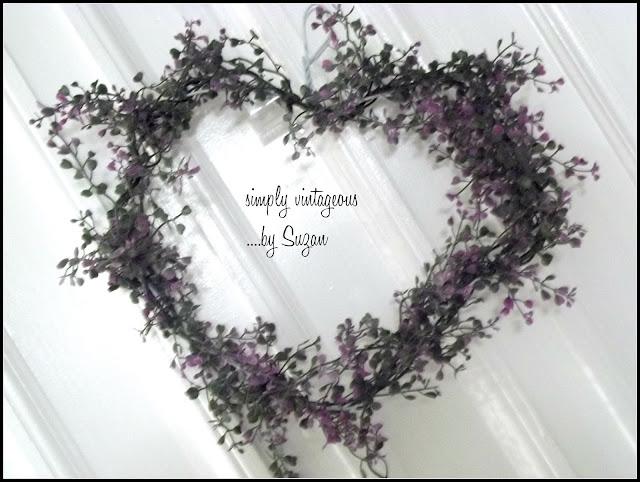 quick, heart, wreath, flowers,