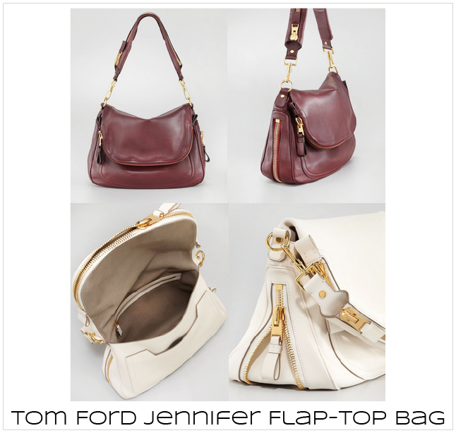 As seen on Jennifer Aniston: Tom Ford Jennifer Bag