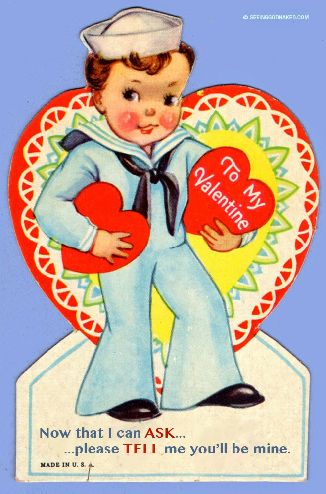 sailor valentine - now that I can ask, please tell me you'll be mine.