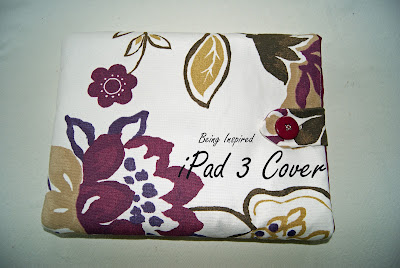 cover/case for an iPad 3 (with tutorial)