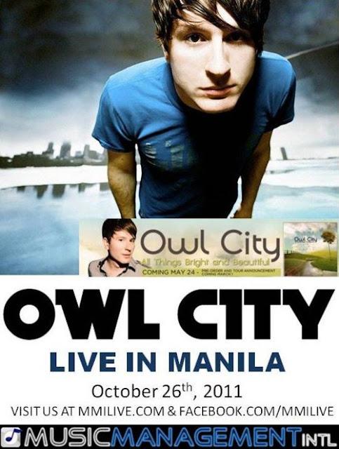 Owl City Live Manila Concert
