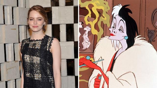 Emma Stone en conversaciones para interpretar a Cruella de Vil
