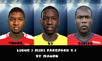 PES 2015 Ligue 1 Facepack by Mauro