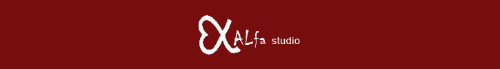 ALfa studio          Things we love...