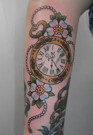 Broken Pocket Watch Tattoo Design Pocket Watch No 2