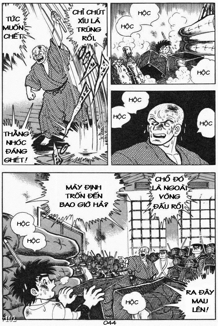 Siêu quậy Teppi chap 105 - Trang 44