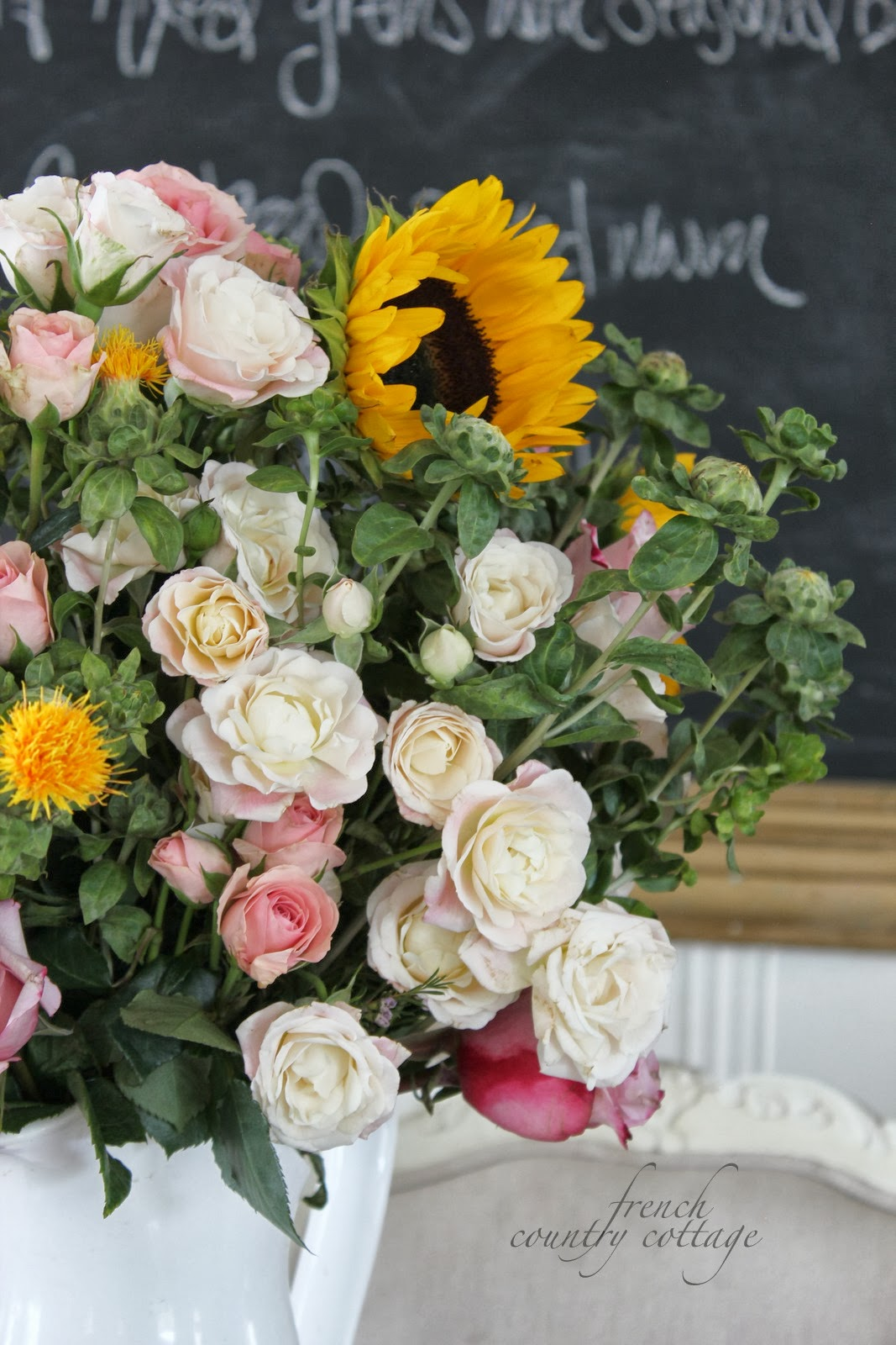 Autumn bouquet for under $20 - FRENCH COUNTRY COTTAGE