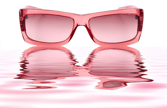 bfc7ec3dd8 It s interesting to me that we have a very clear idea of what rose-colored  glasses