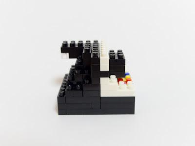 ナノブロックで作ったポラロイド1000