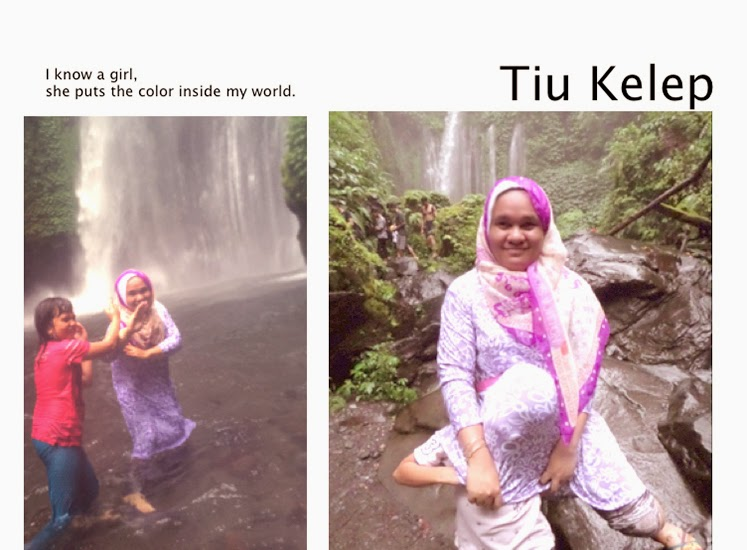 pengalaman ke air terjun Tiu Kelep lombok bersama anak,medan tiu kelep lombok