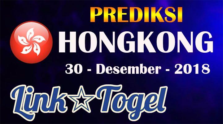 Prediksi Togel Hongkong 30 Desember 2018 JITU HK