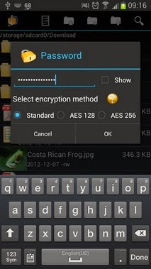 AndroZip™ Pro File Manager android apk - Screenshoot