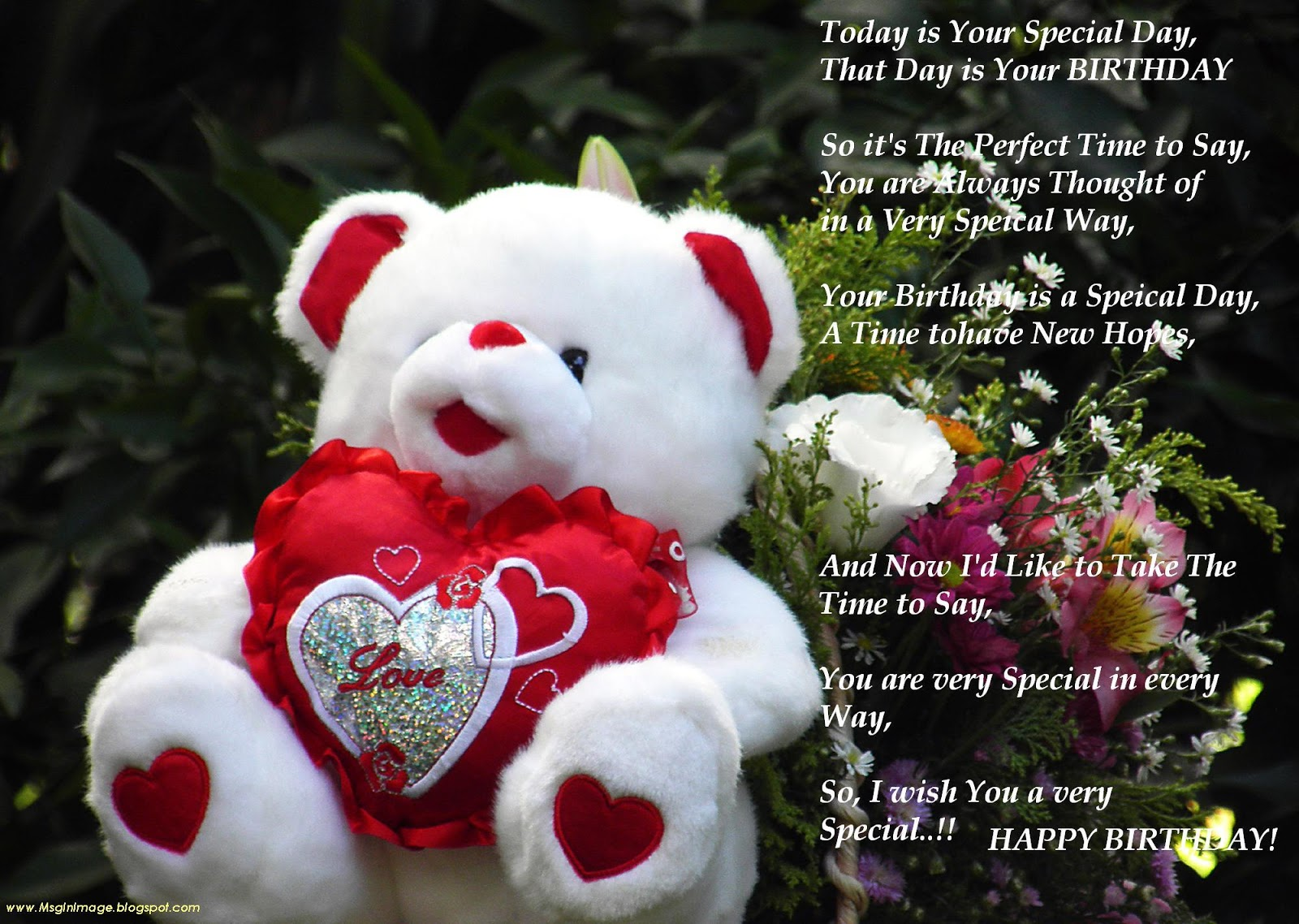 Pictures Of Happy Birthdayquotesmessage Message In Image