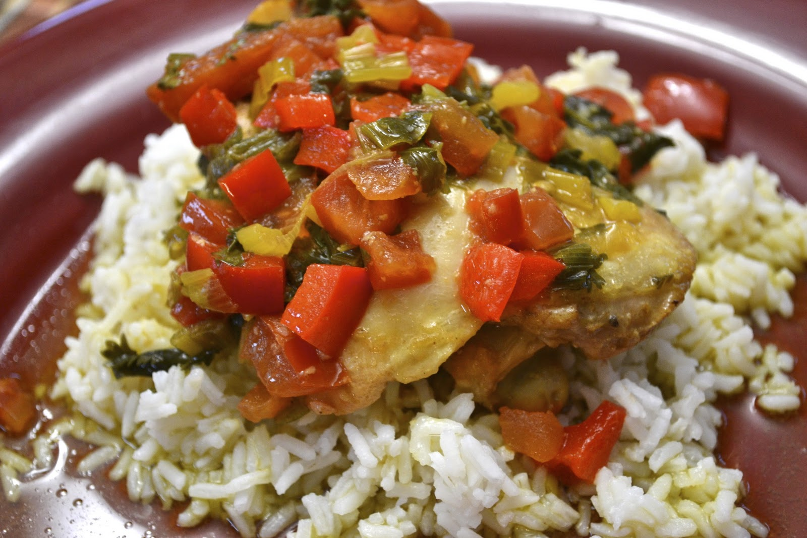 """""""Point-less"""" Meals: Sofrito Chicken Stew"""