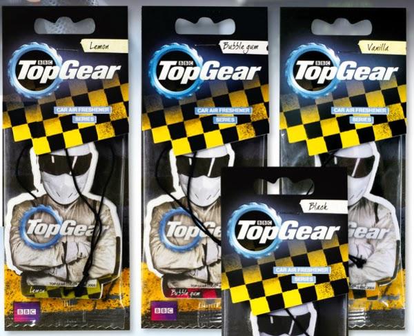Odświeżacz powietrza do samochodu Top Gear z Biedronki