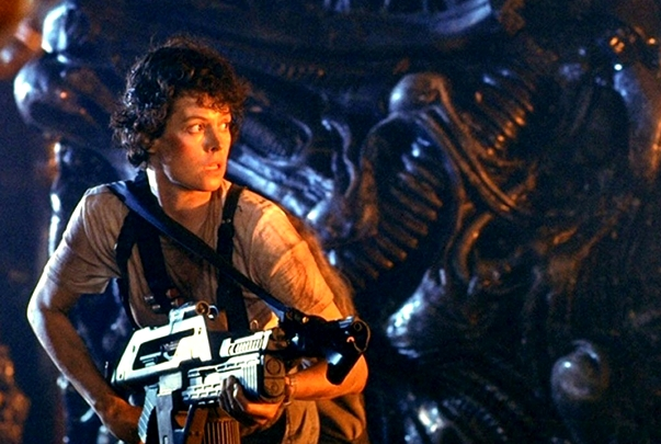 Sigourney Weaver, Aliens