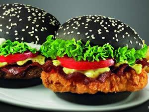 Peluang Usaha Kuliner Burger Hitam