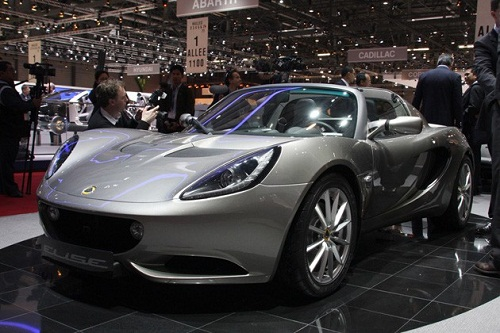 2013 Lotus Elise Coupe
