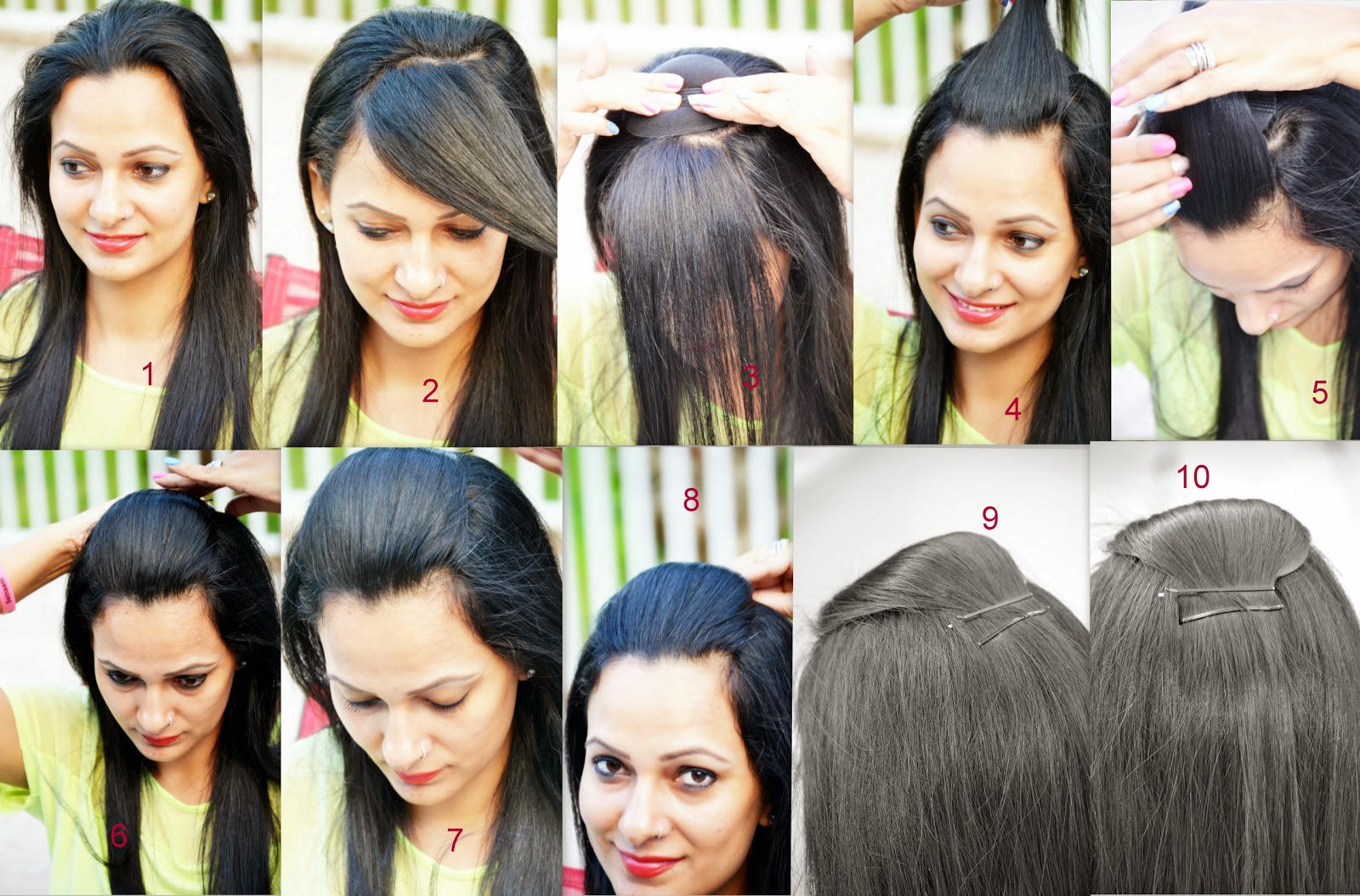 How To Make A Pouf hair styles www.sandysandhu.co