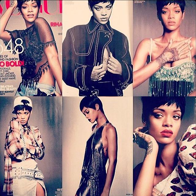 Rihanna en portada de Vogue Marzo 2014