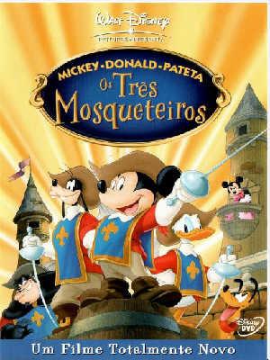 Capa - Mickey, Donald e Pateta: Os Três Mosqueteiros