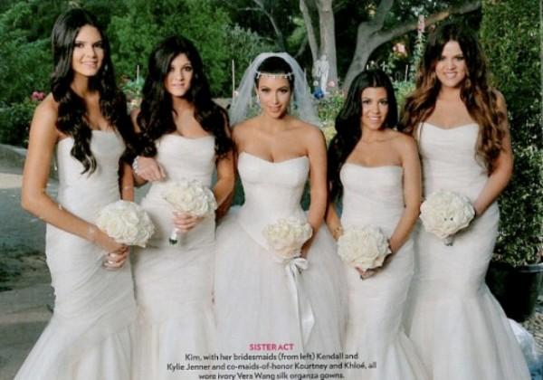 Kim Kardashian Wedding Dresses