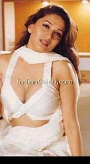 madhuri showing her big breast
