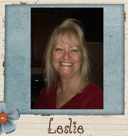 Leslie - Guest Designer