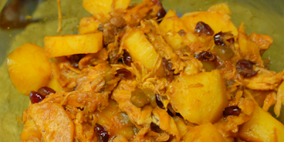 recetas de cocina fricase de pavo