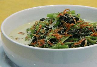 Resep Cara Membuat Sayur Bobor Bayam Gurih dan Nikmat