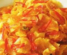 Resep masakan indonesia kering kentang spesial (istimewa) praktis mudah sedap, enak, gurih, nikmat lezat