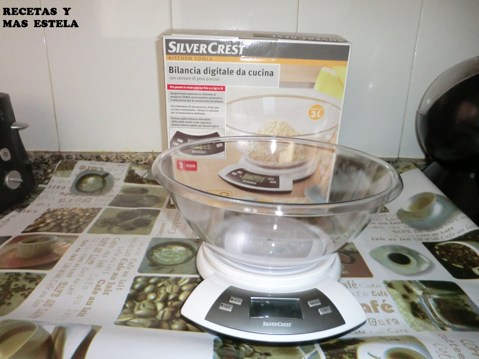 Recetas y mas estela mi nueva adquisici n para la cocina for Bascula cocina lidl