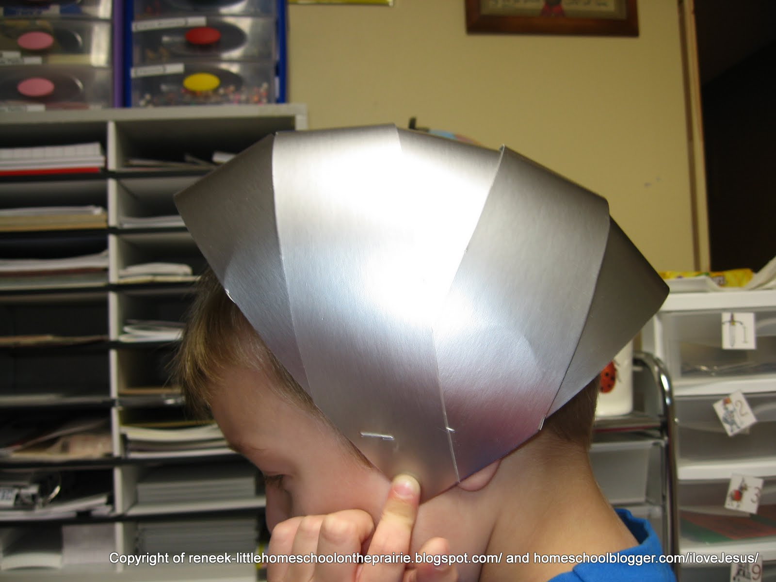 Medieval Knight Helmet Craft