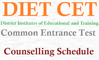 DIET CET Counselling