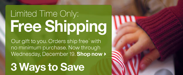 Crate & Barrel free shipping