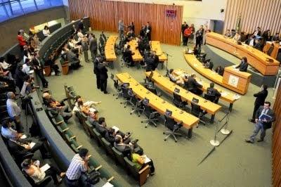 Plenário da Câmara Distrital
