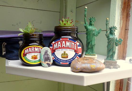 Whoopidooings: Carmen Wing - Cactus Marmite Jars