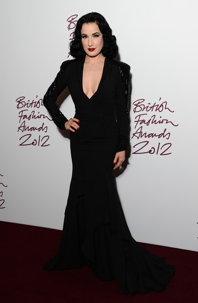 British Fashion Awards Salma