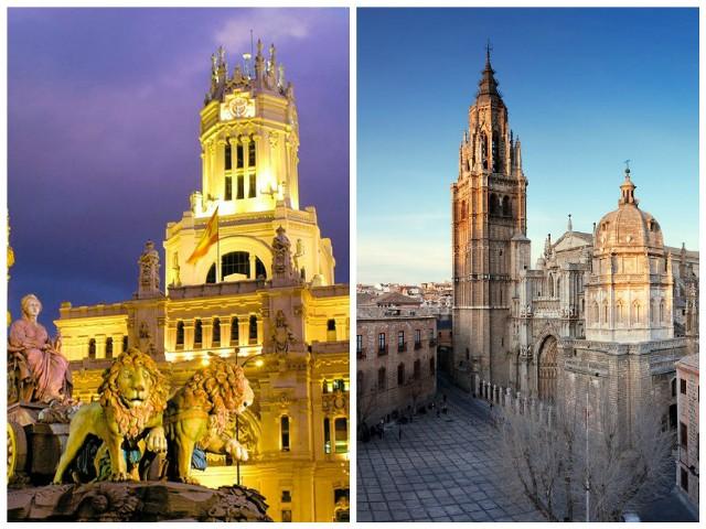 Como ir de Madrid a Toledo en tren y autobus