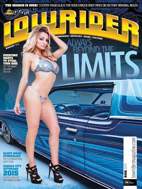 Model @ Lindsey Pelas - Lowrider USA, August 2015