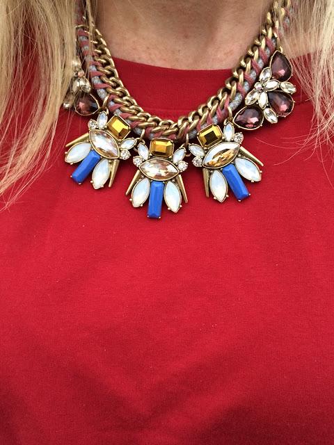 j crew statement necklace on sale maryland lifestyle preppy blogger