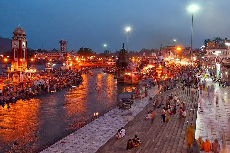 Har Ki Pauri Haridwar India
