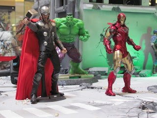 Captain America, Scarlett Johansson, BlackWidow, Avengers, Hulk, Ironman, Davao City, Gaisano Mall, Mindanao Toy Convention 2012, One Piece, GI Joe, Gundam, Action Figures, Collectibles