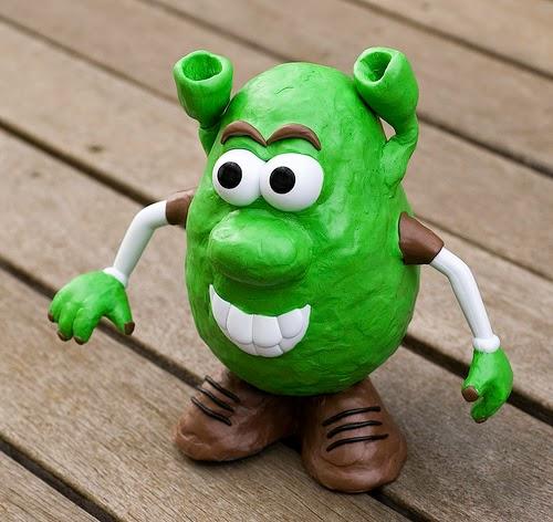 Mr. Potato versión Shrek