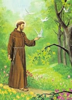 São Francisco de Assis - Protetor das Plantas e dos Animais