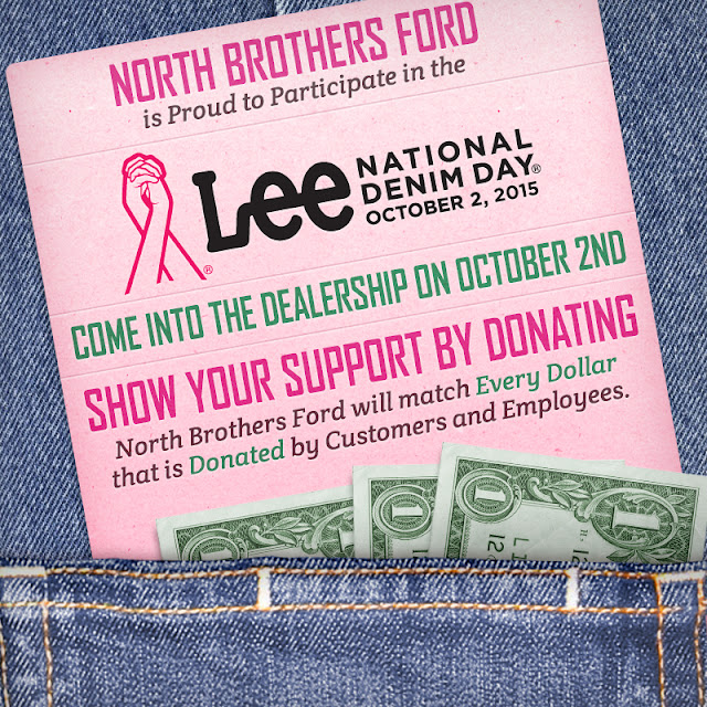 North Brothers Ford is Proud to Participate in Lee National Denim Day!