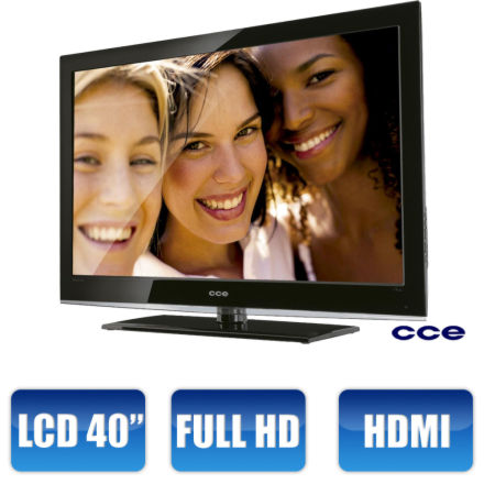 Walmart - TV LCD 40 CCE Full HD